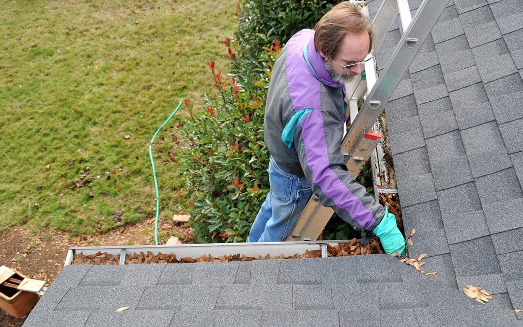 How to Clean Gutters Safely